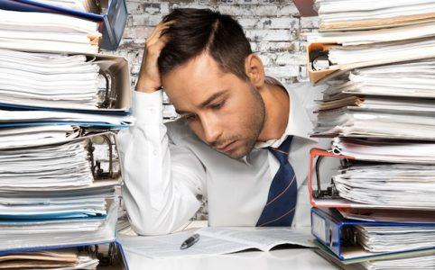 Paperwork, Document, Emotional Stress.